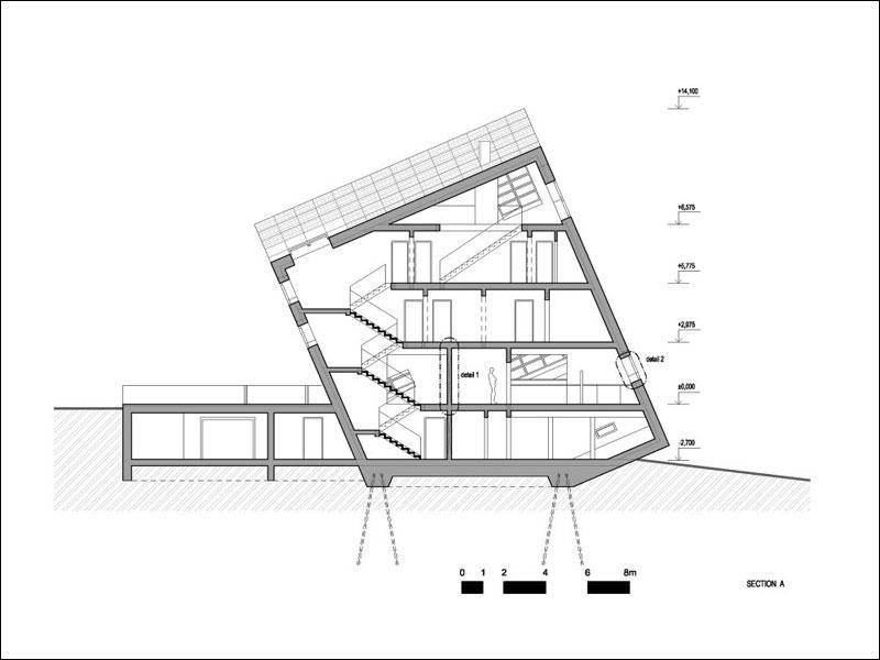 Albergue para concurso de arquitectura